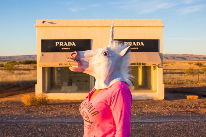 Unicorns in Marfa